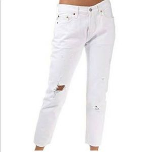 Levi's 501 tapered denim jeans 29